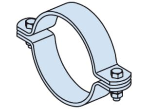clamp shoe pipe support