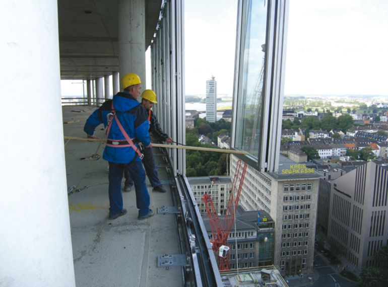 Halfen Introduction Hcw Curtain Wall System Fixing